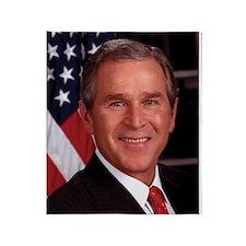 George W. Bush Throw Blanket