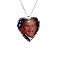 George W. Bush Necklace