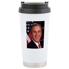 George W. Bush Ceramic Travel Mug