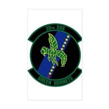 20th Patch Decal
