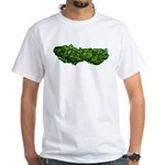 The Good Green White T-Shirt