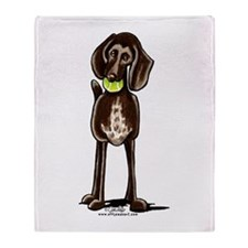 Pointer Playtime Throw Blanket