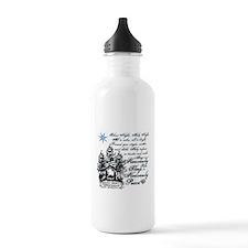 Silent Night Water Bottle