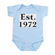Est. 1972 Infant Creeper