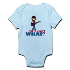 Bass Guitar Girl Infant Bodysuit