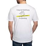 Beware: Plotting Writer Fitted T-Shirt
