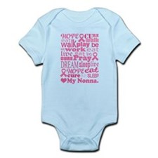 Breast Cancer Hope Nonna Infant Bodysuit