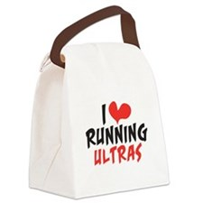 I heart Running Ultras Canvas Lunch Bag