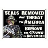 Navy Seals Removed One Threat Banner