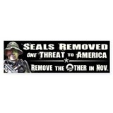 Navy Seals Removed One Threat Bumper Sticker