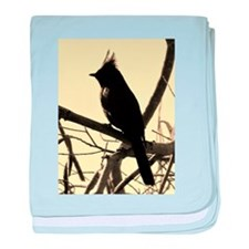 Bird Silhouette baby blanket