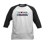 Hug Obama Kids Baseball Jersey
