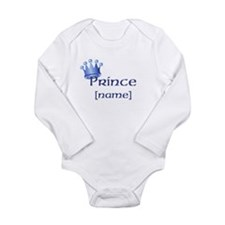 Prince with Personalized name Long Sleeve Infant B