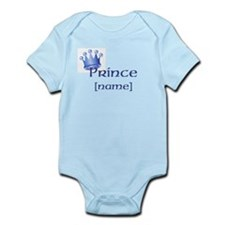 Prince with Personalized name Onesie