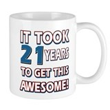 21 Year Old birthday gift ideas Small Mug