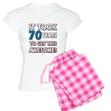 70 Year Old birthday gift ideas Pajamas