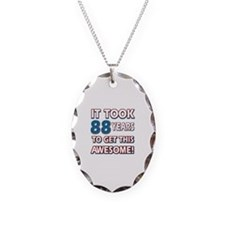 88 Year Old birthday gift ideas Necklace