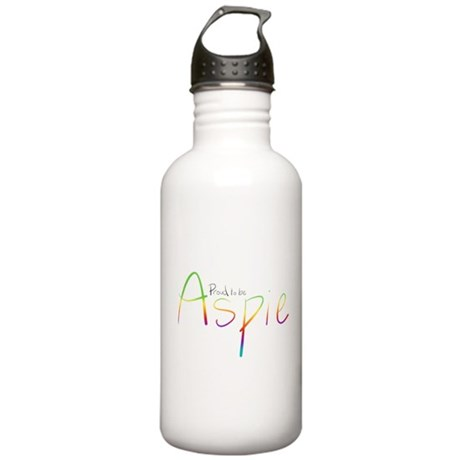 Proud to be Aspie Stainless Water Bottle 1.0L