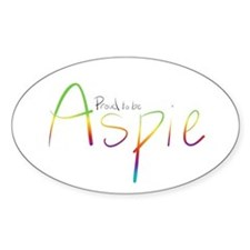 Proud to be Aspie Decal