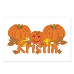 Halloween Pumpkin Kristin Postcards (Package of 8)