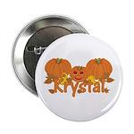 Halloween Pumpkin Krystal 2.25