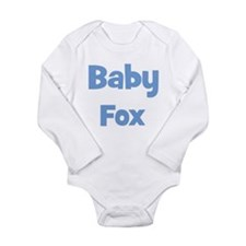 Baby Fox (blue) Body Suit