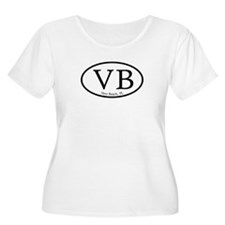 RB Rehoboth Beach Oval T-Shirt