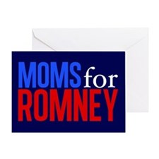 Moms for Romney Greeting Card
