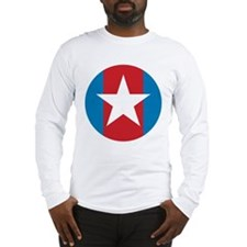 hero shirt white.jpg Long Sleeve T-Shirt