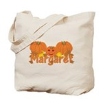 Halloween Pumpkin Margaret Tote Bag