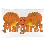 Halloween Pumpkin Margaret Pillow Case