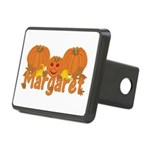 Halloween Pumpkin Margaret Rectangular Hitch Cover