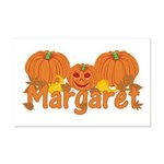 Halloween Pumpkin Margaret Mini Poster Print