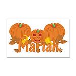 Halloween Pumpkin Mariah Car Magnet 20 x 12