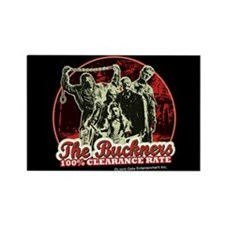 Buckner's 100% Clearance Rate Magnet