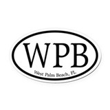 West Palm Beach.WPB.MattAntique.white.png Oval Car