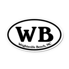 Wrightsville Beach.WB.Windsor.white.png Oval Car M