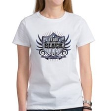 Team Black Friday Shield Star T-Shirt