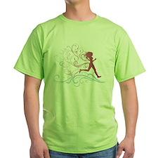 flourish_runner T-Shirt