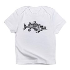 Striped Bass Skeleton Infant T-Shirt