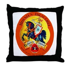 Germany Beer Label 15 Throw Pillow