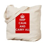 Keep Calm and Carry All tote bag.