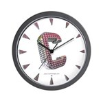 Glamor Brooch C Wall Clock