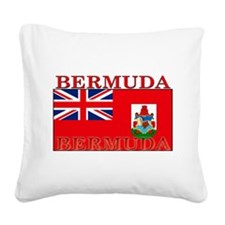 Bermuda.png Square Canvas Pillow