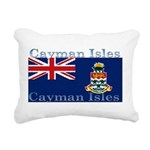 CaymanIsles.jpg Rectangular Canvas Pillow