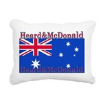 HeardMcDonald.png Rectangular Canvas Pillow