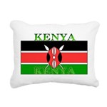 Kenyablack.png Rectangular Canvas Pillow