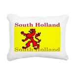SouthHolland.png Rectangular Canvas Pillow