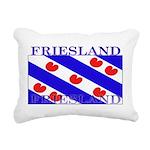 Frieslandblack.png Rectangular Canvas Pillow