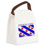 Frieslandblack.png Canvas Lunch Bag